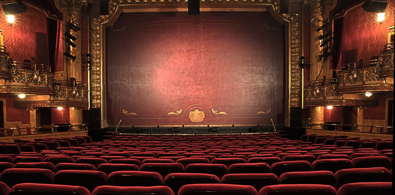 Photograph of a theatre stage