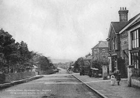 Historical photograph of Burgess Hill