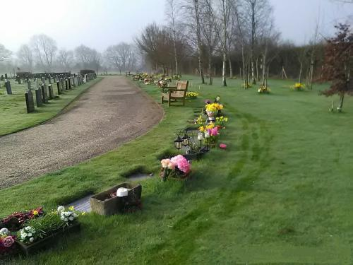 Picture of burial ground