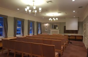 Photograph of the Town Council Chamber