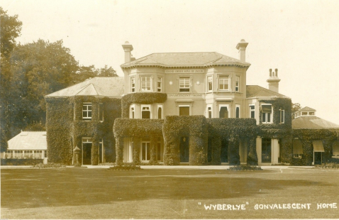 Historical photograph of Wyberlye Convalescent Home
