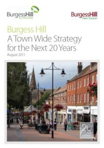 Cover image of the Burgess Hill Town Wide Strategy