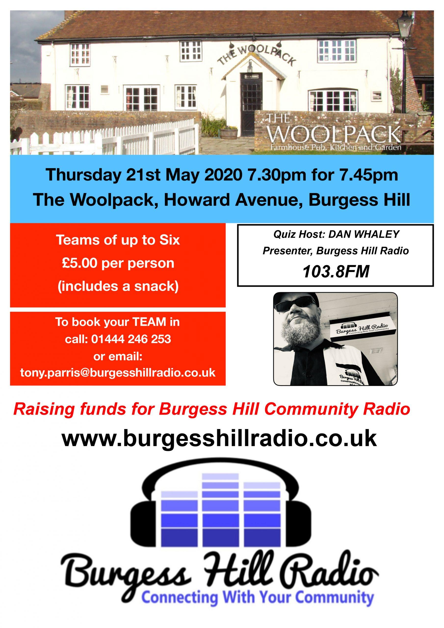 Burgess Hill Radio Quiz