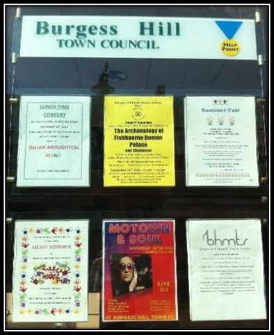 Burgess Hill Notice Boards