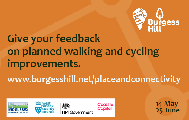 Feed Back on Burgess Hill walking and cycling improvements