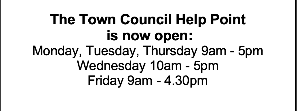 Updated Help Point Opening Hours