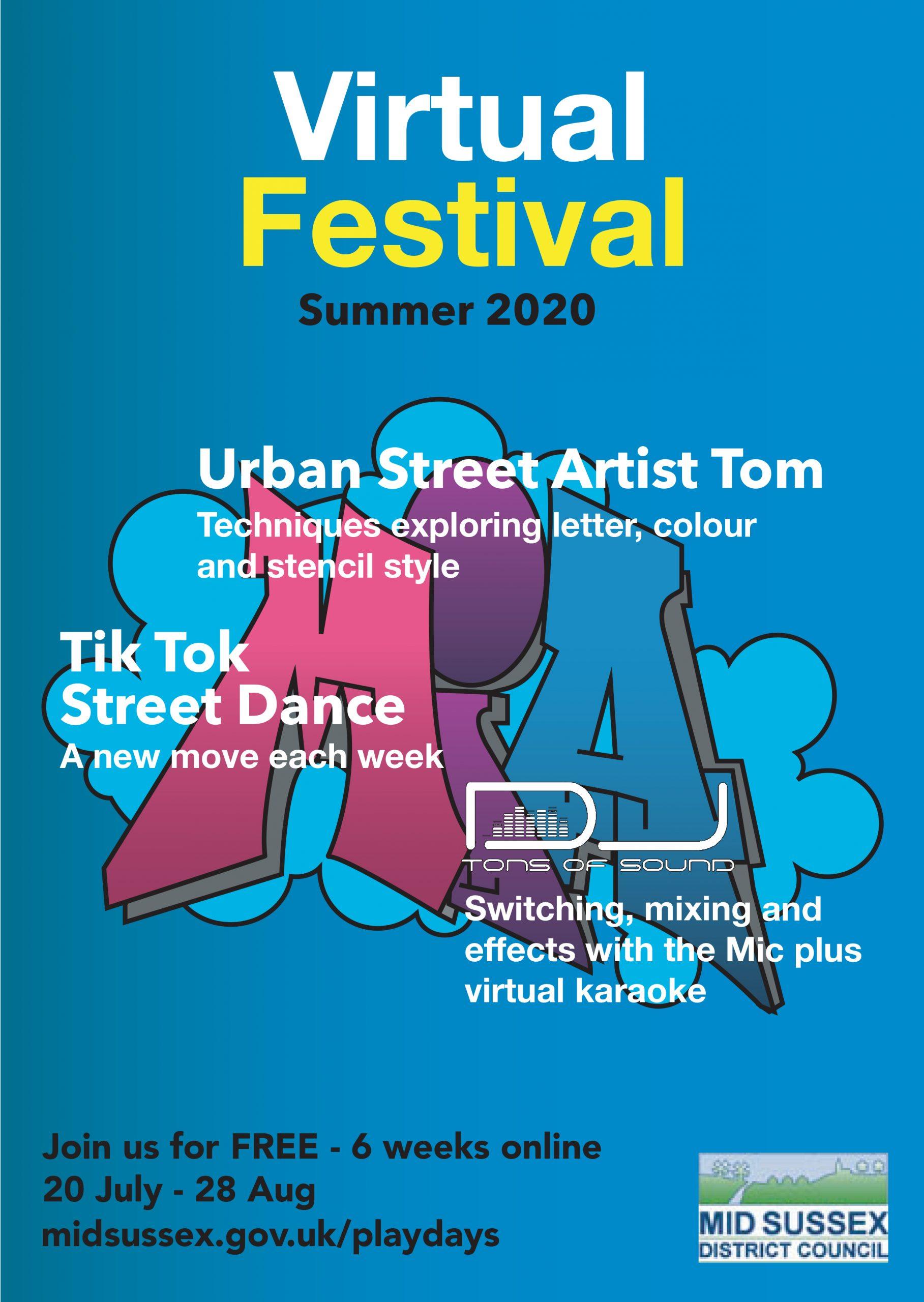 Virtual Festival Summer 2020