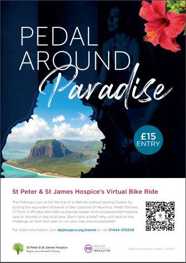 St Peter & St James Hospice's Virtual Bike Ride