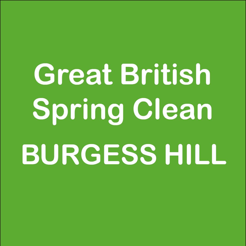 GREAT BRITISH SPRING CLEAN – TAKE PART!