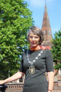 Town Mayor, Anne Eves