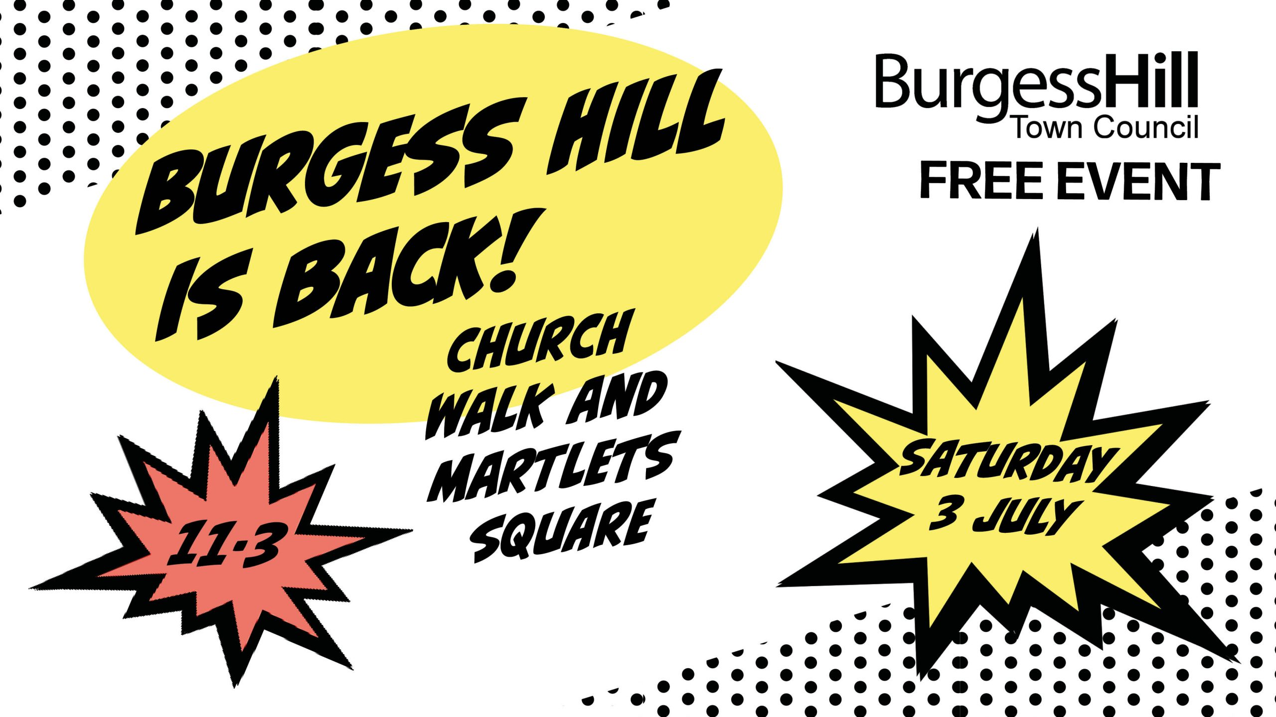 Burgess Hill is Back!