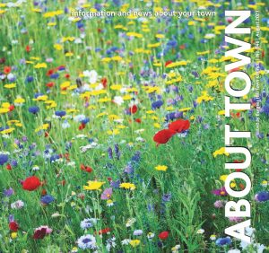 Front cover of the August 2021 About Town