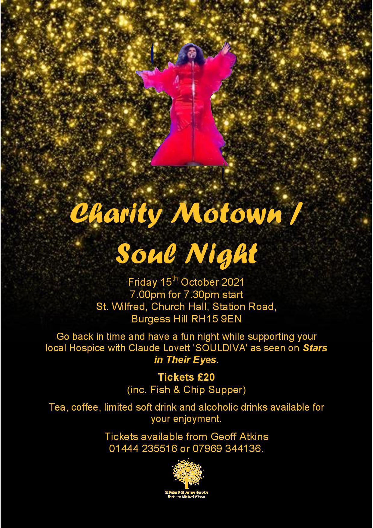 Charity Motown/Soul Night