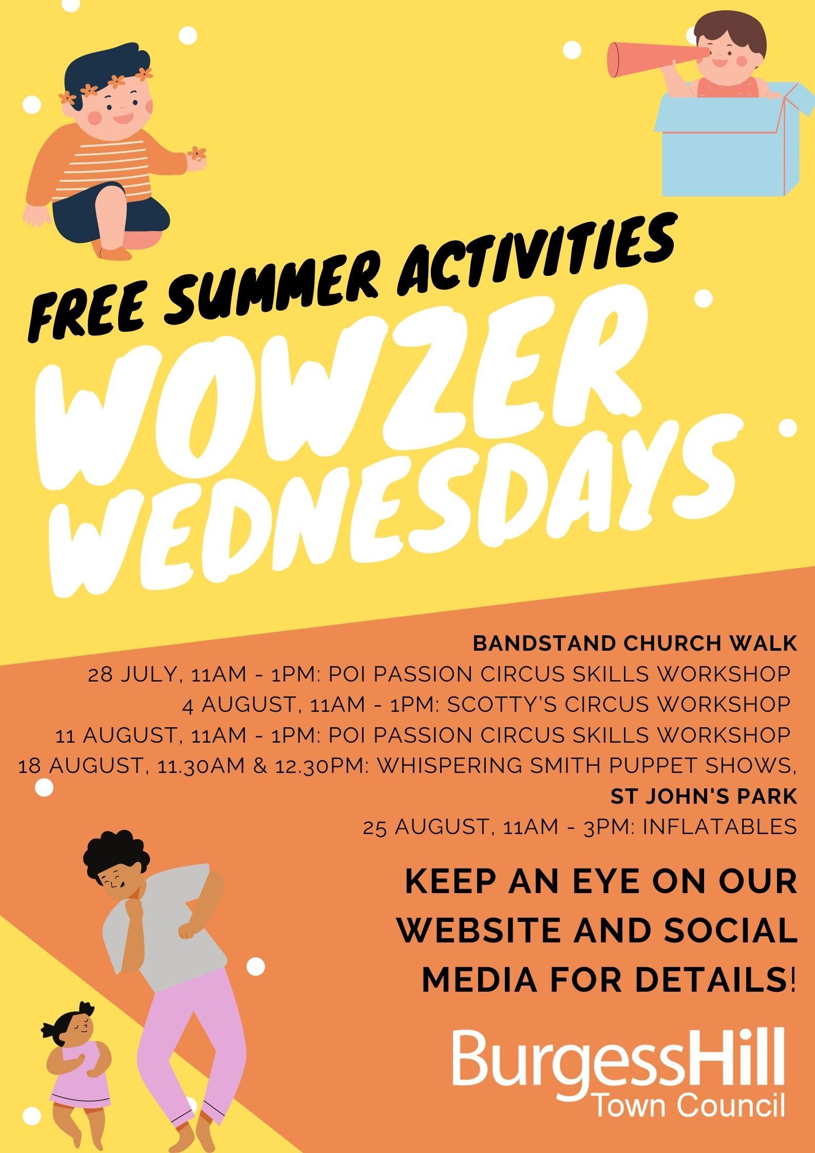 Wowzer Wednesdays!