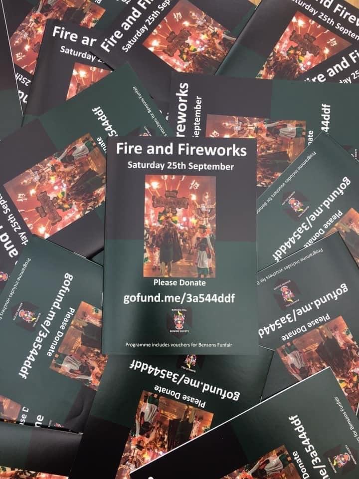Burgess Hill Bonfire Society Programmes