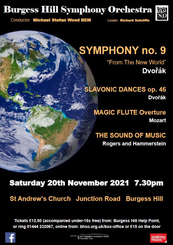 Burgess Hill Symphony Orchestra Autumn Concert