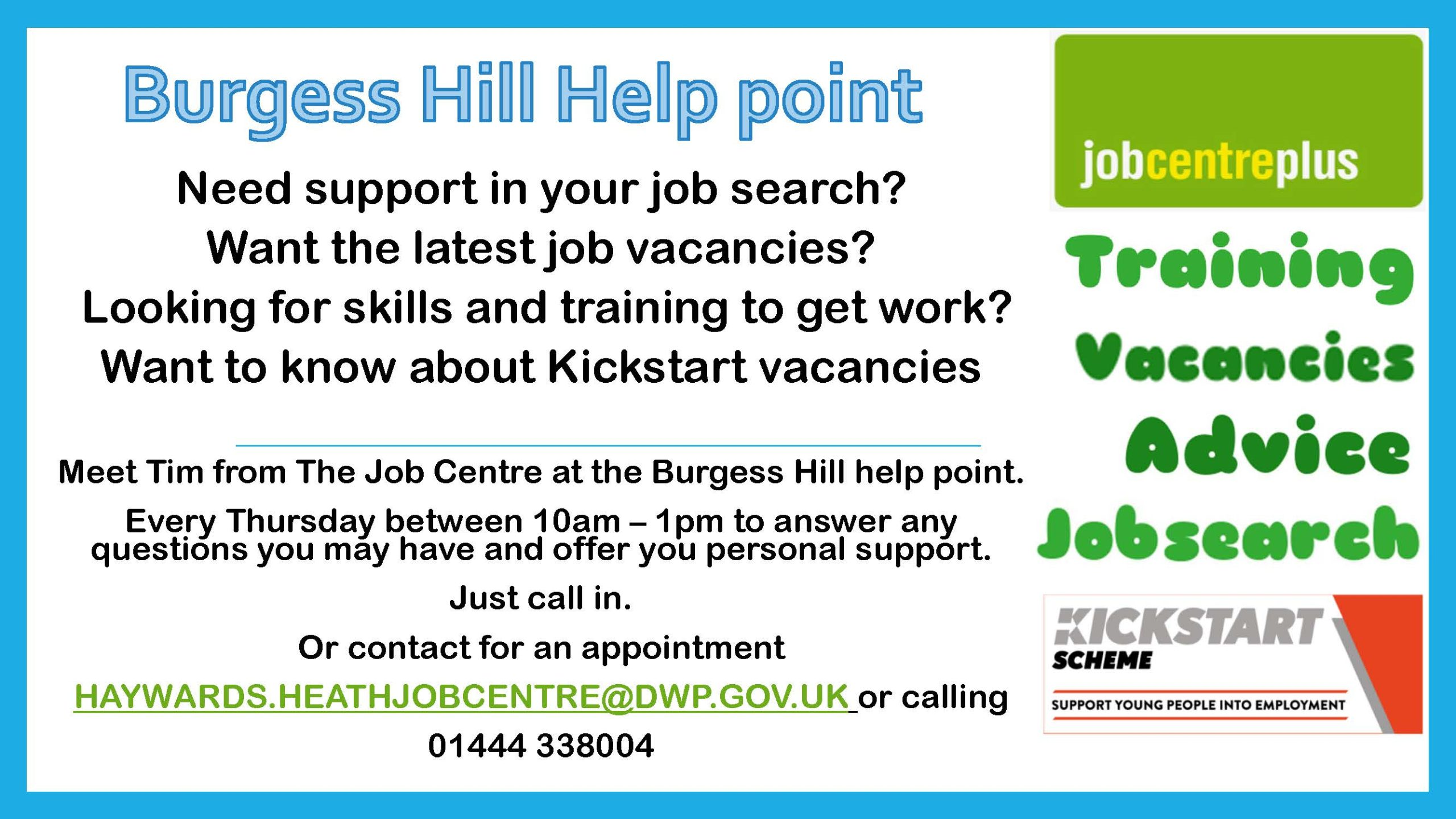 Job Centre in the Help Point
